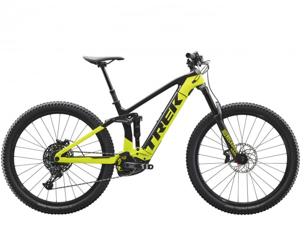 Trek Rail 9.7 NX Raw Carbon/Volt, Gr. L