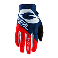 MATRIX Glove STACKED blue/red S/8