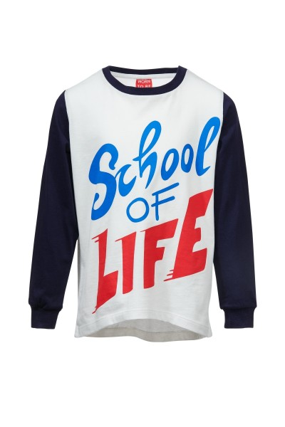 SCHOOL OF LIFE Langarm Shirt
