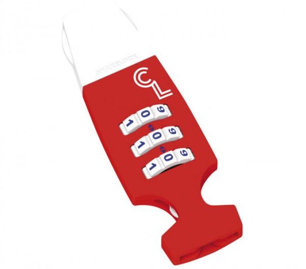 CAPPUCCINO LOCK RED WHITE .