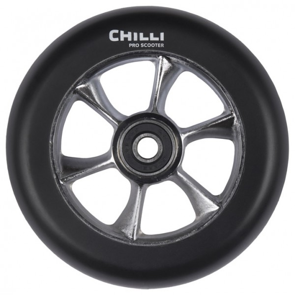 Chilli Wheel Turbo 110mm Black
