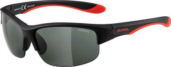 FLEXXY YOUTH HR, black-red matt CERAMIC black, -