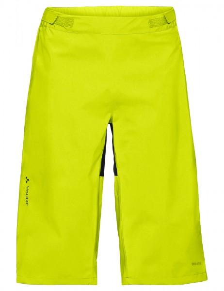 Men`s Moab Rain Shorts M bright green