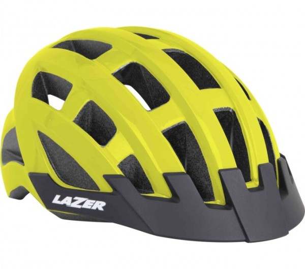 Helm Compact Flash Yellow Unisize 54-61 cm