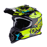 2SRS Youth Helmet VILLAIN neon yellow L (53/54 cm)