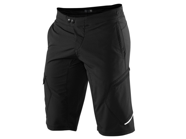 100% Ridecamp Youth Short, black, 24""