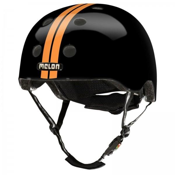 Melon Helm - M/L - Double Orange Black