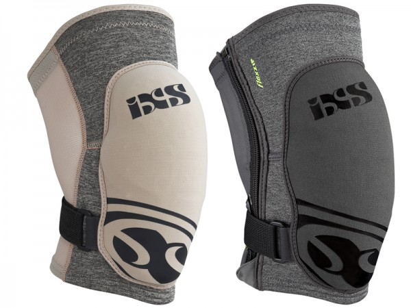 iXS Flow EVO+ knee pad, grey, M